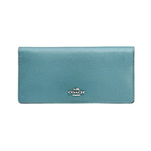 COACH - Color Block Slim Wallet Handbags